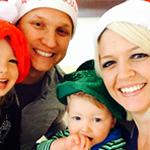 Megan and Family Xmas 2013